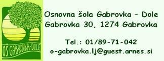 OŠ Gabrovka-Dole